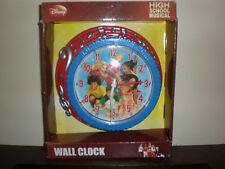HIGH SCHOOL MUSICAL CLOCK NEW IN BOX