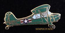 US ARMY AERONCA L-16 Grasshopper HAT PIN NATIONAL GUARD CIVIL AIR PATROL CAP WOW