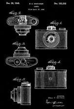 1948 - Universal Camera - D. C. Whitaker - Patent Art Poster