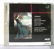 NIELSEN CONCERTO PER CLARINETTO  /  CD