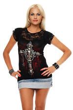 SPIRALE donna maglietta Death Bones