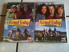 15816 // 2 COFFRET DE 2 DVD INTEGRALE GRAND GALOP SAISON 1  NEUF SOUS BLISTER