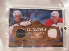 2008-09 UD Artifacts TUNDRA TANDEMS Hockey Card #TTCR Cheechoo Ryder Canadiens