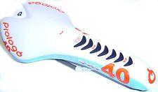 MTB Rennrad Triathlon Sattel Prologo Nago EVO TRI 40 Ti weiss blau  NEU