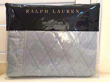 RALPH LAUREN Pillow Sham 1x Standard of King BEDFORD QUILTED YOU PICK 100%Cotton