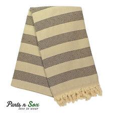 Peshtemal Cotton Turkish Towel Beach Red Stripe Hammam Picnic Blanket
