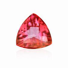 Natural 8, 9, 10 mm Trillion Loose Pink Topaz Gemstone
