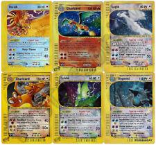 Pokemon Cards ULTRA RARE E-CARDS / CRYSTAL / Expedition / Aquapolis / Skyridge