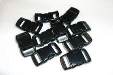 """3/8"""" Plastic Side Release Buckle Curved Clasp 550 Paracord Bracelet 1 - 200 pcs"""