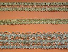 Borte 1,5 bis 4,5 cm Goldborte 1 Meter Posamentenborte