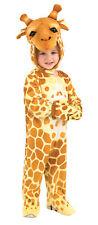 Giraffe Animal Child Unisex Costume Plush Jumpsuit Halloween Fancy Dress Rubies