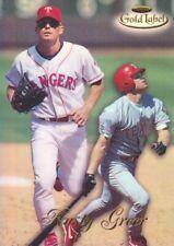 1998 Topps Gold Label Baseball Class 1 #28 Rusty Greer Texas Rangers