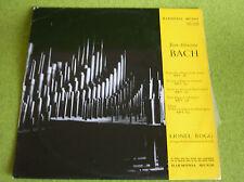 LP BACH-LIONEL ROGG-ORGUE-HARMONIA MUNDI HMO 30.706