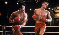 "Sylvester Stallone / Dolph Lundgren [Rocky IV] 8""x10"" 10""x8"" Photo 59665"