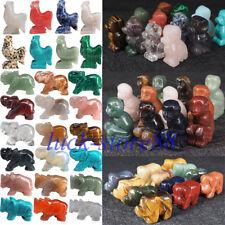 """Natural Hand Carved Animal Natural Crystal Healing Gemstone Carving Specimen 2"""""""