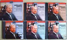 Gerhard OPPITZ Signiert BRAHMS 5CD Complete Solo Piano Works Sonata Variation