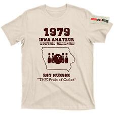 Roy Munson Woody Harrleson Kingpin Randy Quaid Bill Murray 2 blu ray Tee T Shirt