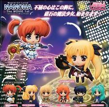 Nanoha MRM Mascot Relief Magnet figure gashapon set
