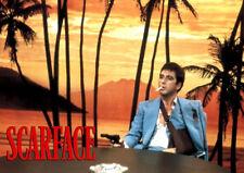 Scarface Al Pacino Sunset Scene T-Shirt Adults, Ladies & Kids Sizes. Movie Gift