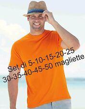 SET 5 - 10 - 15 - 20 - 25- 30 - 35 - 40 - 45 - 50 magliette vari colori