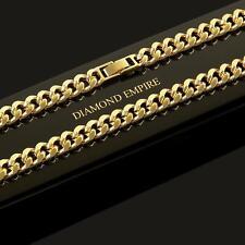 CADENA TRENZADA Collar Collar 50,55 cm x 8mm SERIE 750 Oro Dorado: k1813