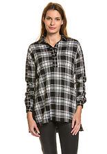 FRENCH CONNECTION Damen Bluse Langarm Hemd Shirt Oberteil