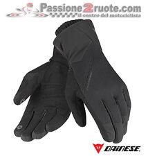 Guanti Dainese Avenue D-Dry Nero Nero Moto Gloves