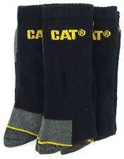 New Mens/Gents Caterpillar 3 Pair Pack Work Socks Ideal Gift Ideas UK Size