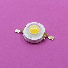 De alta potencia de 1W Blanco Cálido LED Luz Diodo 3000-3500K cuentas 100-110lm Epistar Chip