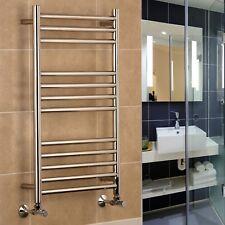 Riga Stainless Steel Heated Towel Rail Warmer Bathroom Radiator 400 500 600 wide