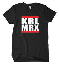 Karl Marx T-Shirt Fun Kult Antifa Demo Links Punk Autonom Manifest DDR
