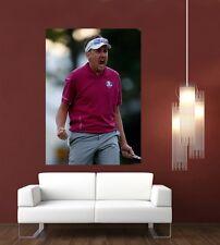 Ian POULTER Golfisti GIGANTE 1 PEZZO Wall Art POSTER sp197