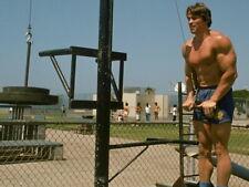 Arnold Schwarzenegger Bodybuilding Workout Huge Giant Print POSTER Affiche