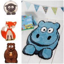 Kids Children Unisex Nursery Plush Animal Soft RUG Carpet,Bear/Hippo,60x90cm,New