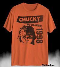 New Chucky Japanese Child's Play Men's 1998 Halloween Vintage Retro T-Shirt