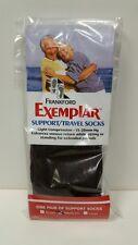 Frankford Exemplar Support/Travel Socks Color- Black