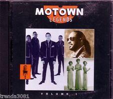 Motown Legends Volume 1 Classic 60s R&B MARTHA REEVES STEVIE WONDER DIANA ROSS