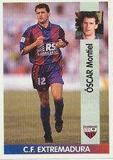 N°338 OSCAR MONTIEL CF EXTREMADURA CROMO STICKER PANINI LIGA 1997