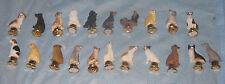 Dog Figurines Various Breeds You Choose Ornamental Lamp Finial