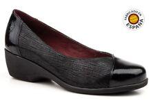 Zapato salón piel color negro o marrón tallas 35 a 41