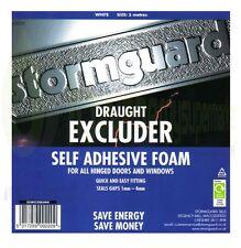 5M ROLL WINDOW DOOR FOAM DRAFT DRAUGHT EXCLUDER INSULATION WEATHER STRIP