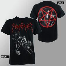 Authentic EMPEROR Rider Pentagram Logo Official T-Shirt S M L XL NEW