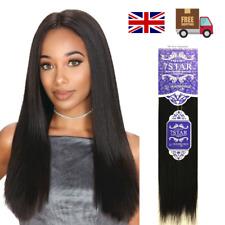 UK 100% Premium 7STAR Siky Yaki Human Hair Extension Weave in all length