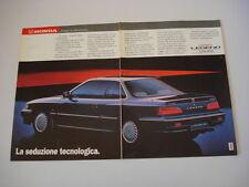 advertising Pubblicità 1988 HONDA LEGEND COUPE'
