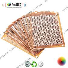 New DIY PCB Universal Prototype Paper Matrix Circuit Board Stripboard 5x7cm (UK)