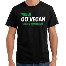 Go Vegan - Save Animals | Veganer | Veganismus | Vegetarismus | S-XXL T-Shirt