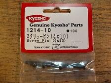 1214-10 Screw Pin / King Pin - Kyosho Lazer 2000 Lazer Alpha Pure Ten Fazer
