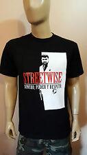 El Chapo STREETWISE T-Shirt Scar Face Dinero , Poder  Mexico Thug Life Tee 2PAC