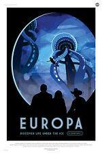 Europa la NASA espace tourisme espace tirage Poster