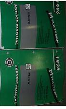 1996 Gm Chevy Geo Metro Service Shop Repair Workshop Manual Set Factory Oem